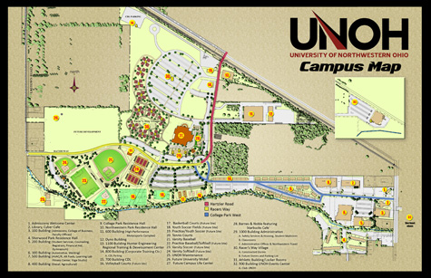 University of Northwestern Ohio   Map and Directions