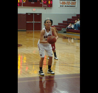 Amanda Francis has scored 1,000 points in her career at UNOH.