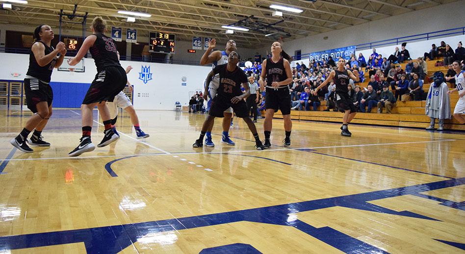 Photo for Defensive Effort Spoiled in Fourth Quarter as Women�s Basketball Season Ends