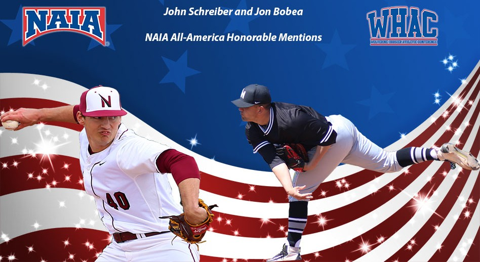 Photo for Schreiber and Bobea Earn NAIA All-America Honorable Mentions