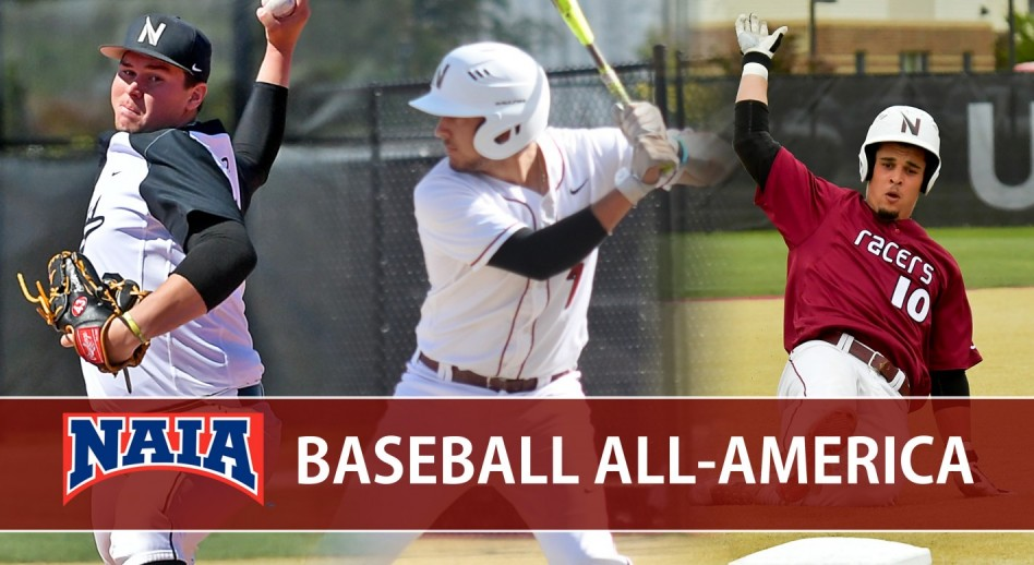 Photo for Racers Claim Three NAIA Baseball All-American Honorees