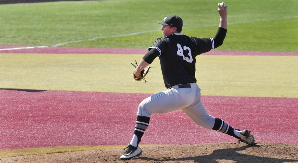 Damon Proctor moved to 13-0 behind his sixth complete game. (Photo by Mike Campbell)