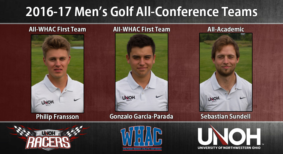 Photo for WHAC Honors Released for Men's Golf