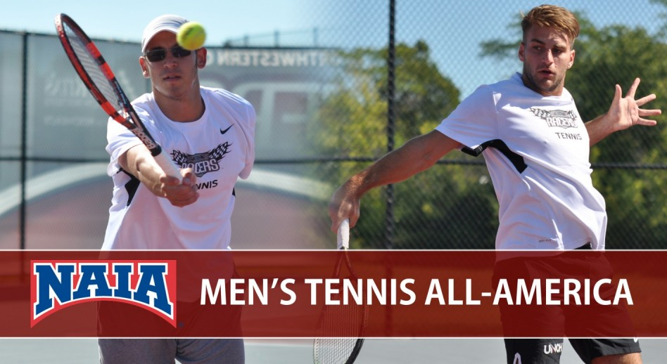 Photo for Baudin, Popa Named to 2017 NAIA Men's Tennis All-America Teams