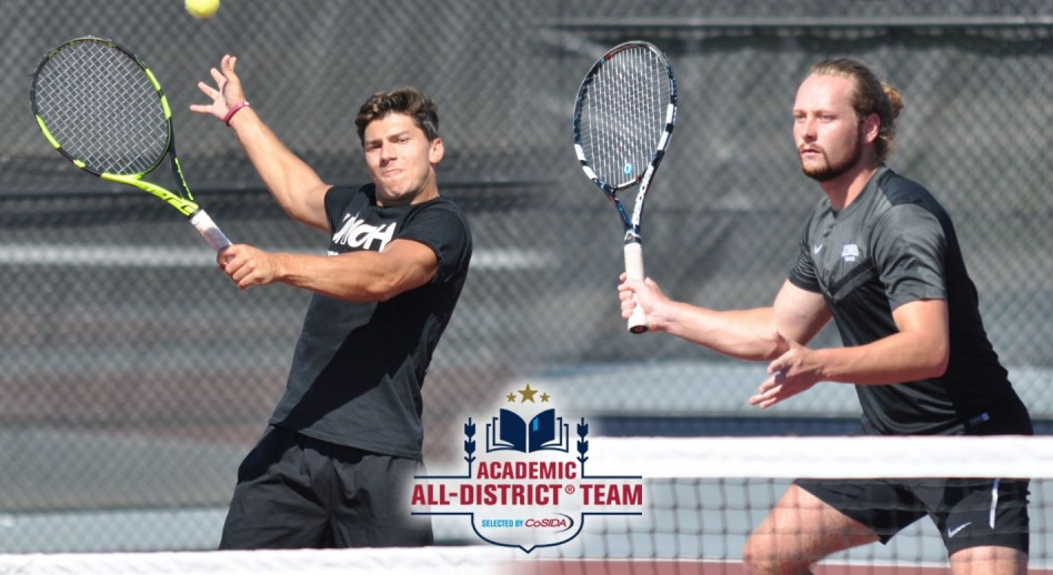 Photo for Baciu and Myburgh Named 2017 Academic All-District®