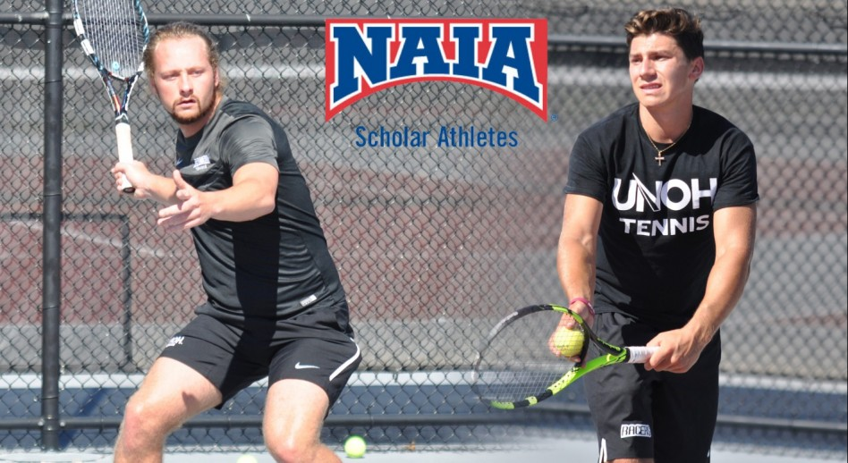 Photo for Baciu, Myburgh Add Daktronics-NAIA Scholar-Athlete Honors