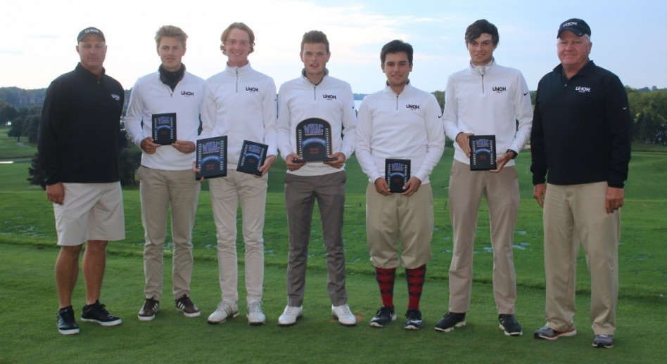 Photo for Men's Golf Crowned WHAC Champion