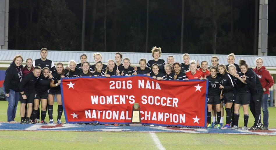Photo for UNOH Holds Celebration Rally for National Championship Soccer Team