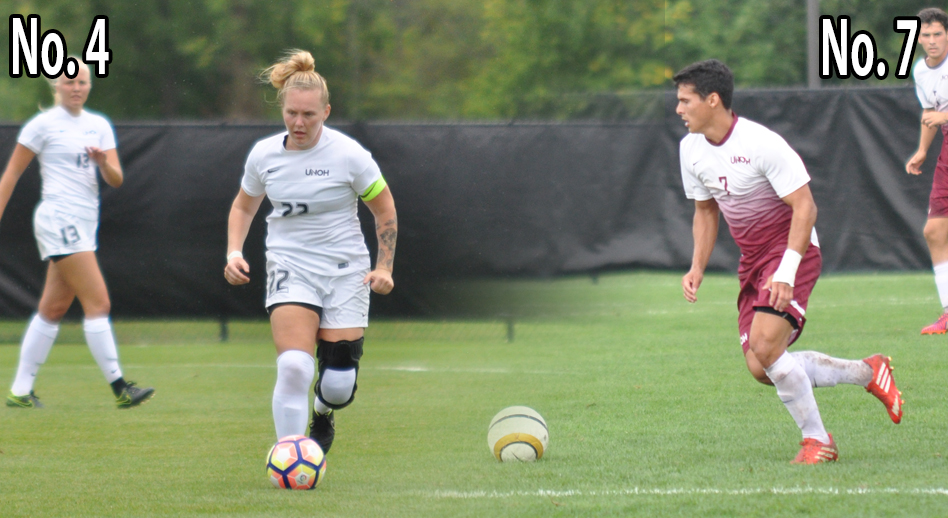 Photo for Women�s and Men�s Soccer Represented in NAIA Polls
