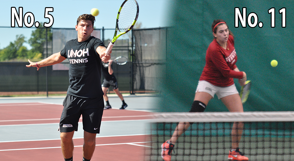 Photo for Men Hold, Women Drop in NAIA Tennis Rankings