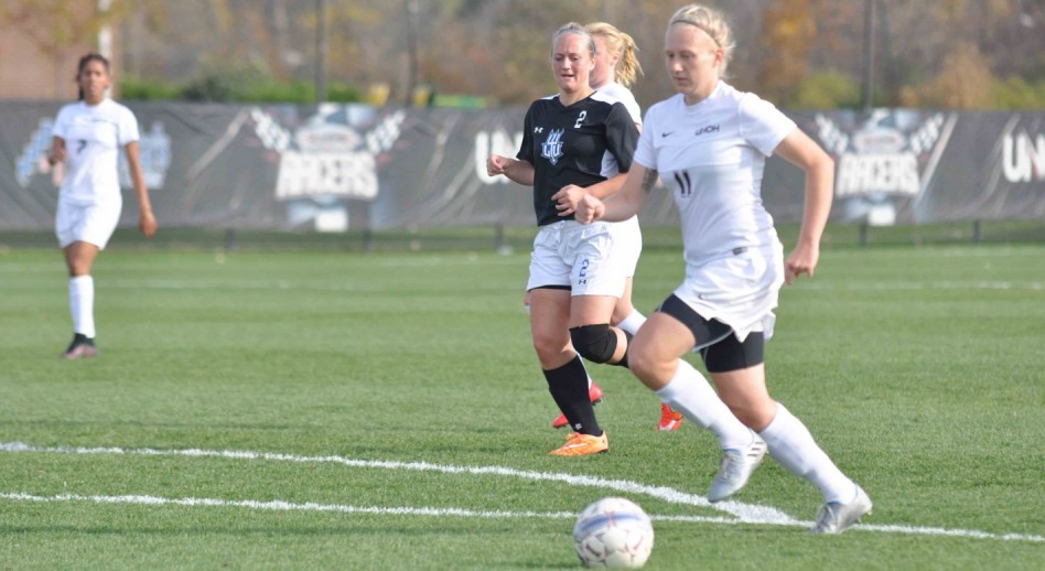 Camilla Andersen scored two goals to tie and break the WHAC record for most goals in a season. (Photo: Kylie Kahlig)