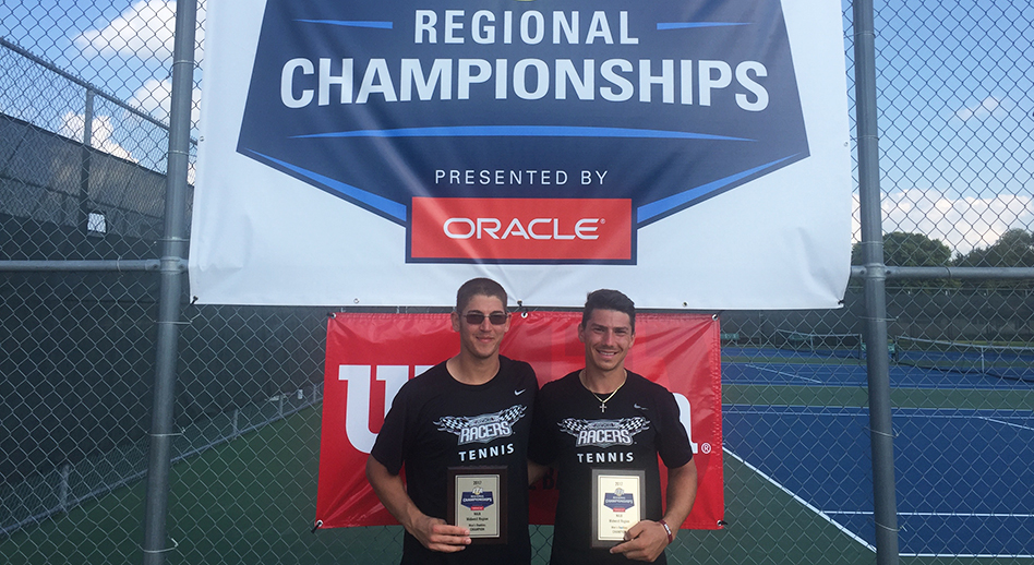 Photo for Men's Tennis Sweeps ITA Regional Titles